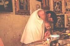 taller artesania virgenes san blas cuzco