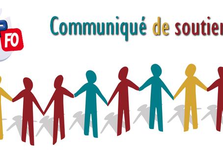 Prison d'Orléans-Saran : Communiqué de soutien