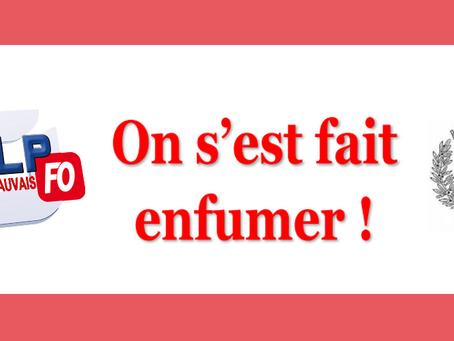Prison de Beauvais : On s'est fait enfumer !