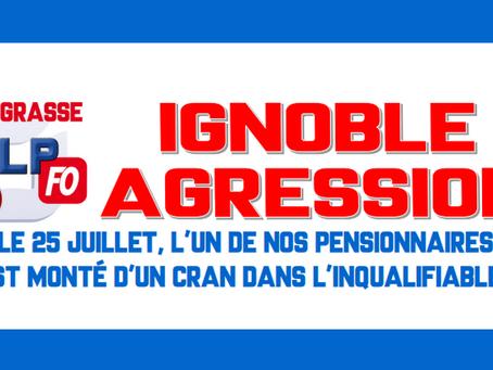 Prison de Grasse : Ignoble agression