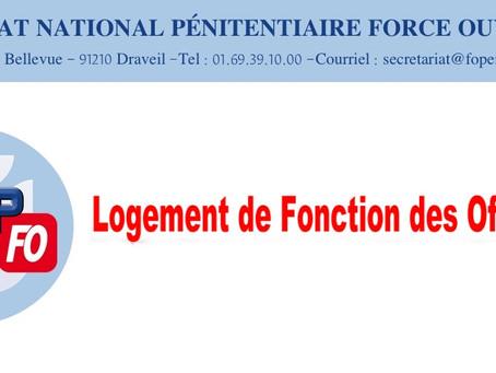 Logement de fonction des officiers : Lettre ouverte au Directeur de l'Administration Pénitentiaire