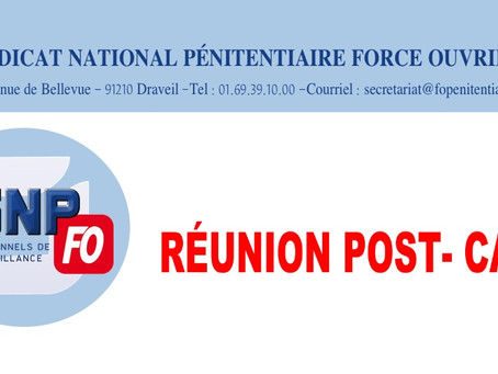 Réunion Post-CAP