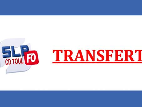 Prison de Toul : Transferts