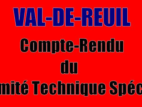 Prison de Val-de-Reuil : Compte-Rendu du Comité Technique Spécial
