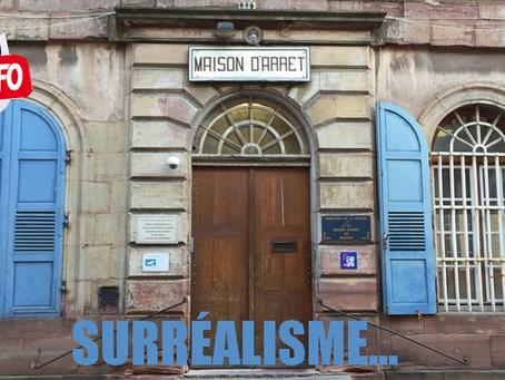 Prison de Belfort : Surréalisme...