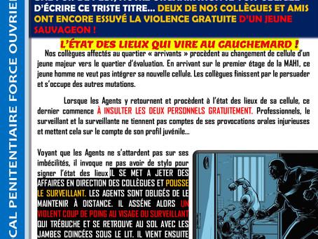 Prison de Beauvais : Agression