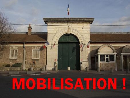 Prison de Fresnes : Blocage Total !