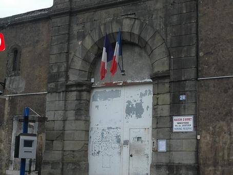 Prison de Foix : Écrou puis direction QD