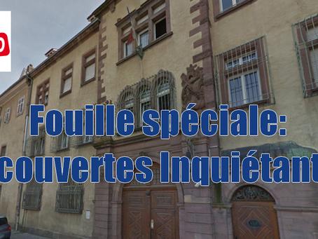 Prison d'Ensisheim : Découvertes inquiétantes, Fouille Spéciale