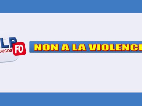 Prison de Ducos : Non à la violence !