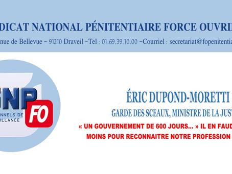 Éric Dupond-Moretti : Garde des Sceaux, Ministre de la Justice