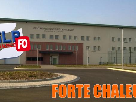 Prison de Valence : Forte chaleur