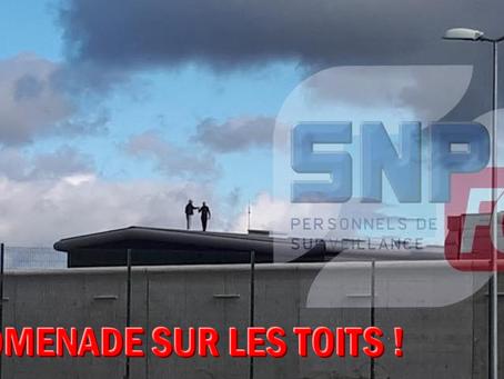 Prison de Riom : Promenade sur les toits !