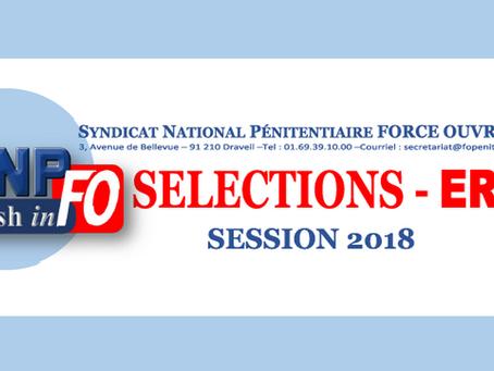 Sélections - ÉRIS : Session 2018