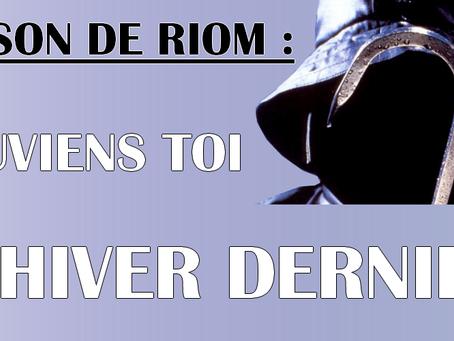 Prison de Riom : Souviens toi l'hiver dernier
