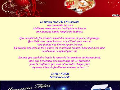 Prison de Marseille : Joyeuses fêtes de fin d'année