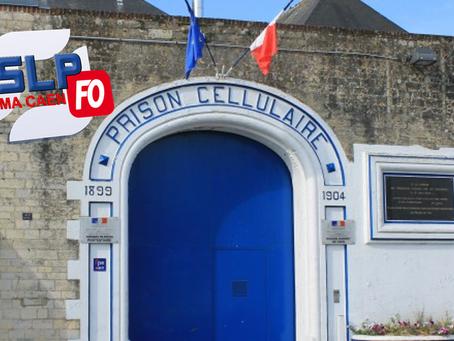 Dans la prison de Caen, on prend !
