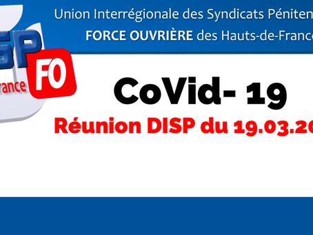 DI de Lille : COVID-19 Réunion DISP du 19 Mars 2020