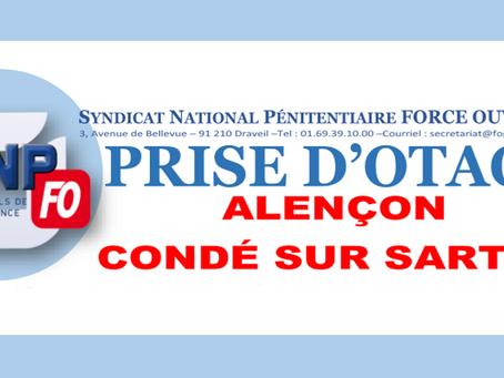 Prise d'otage Alençon Condé-sur-Sarthe