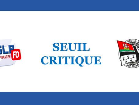 Prison de Nantes : Seuil critique