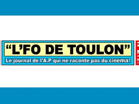 L'FO de Toulon : Le journal de l'A.P qui ne raconte pas de cinéma !