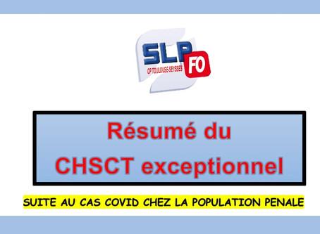 Prison de Toulouse-Seysses : Résumé du CHSCT