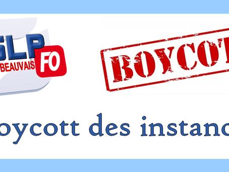 Prison de Beauvais : Boycott des instances Propos préliminaires