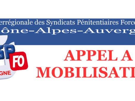 Rhône-Alpes-Auvergne : Appel à Mobilisation