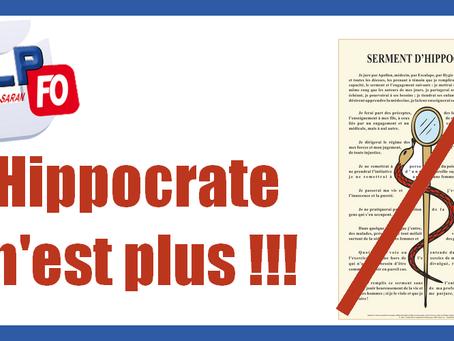 Prison d'Orléans-Saran : Hippocrate n'est plus !!!
