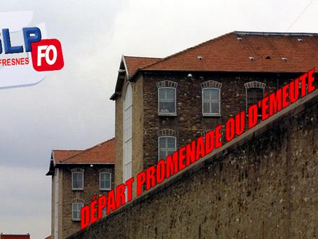 Prison de Fresnes : Départ promenade ou d'émeute ?