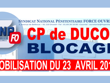Blocage du CP Ducos : Mobilisation du 23 Avril 2019 Acte 2
