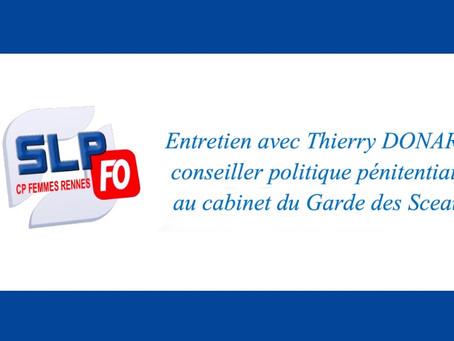 Prison de Rennes : Entretien avec Thierry Donard, conseiller politique pénitentiaire