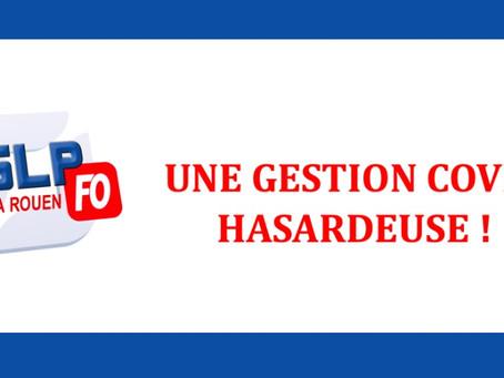 Prison de Rouen : Une gestion COVID hasardeuse !