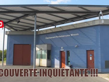 Prison de Porcheville : Découverte inquiétante !!!