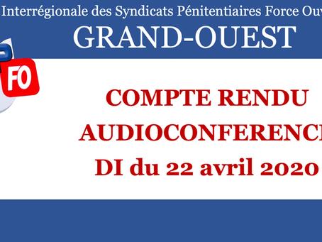 DI de Rennes : Compte rendu audioconférence DI du 22 Avril 2020