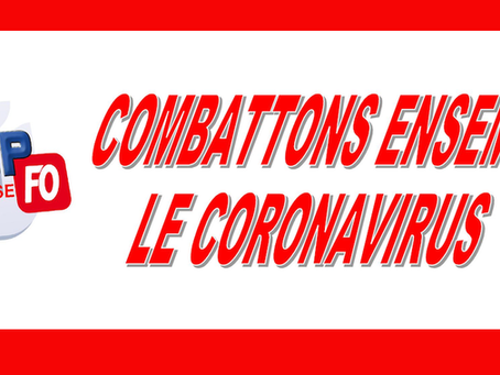 Combattons ensemble le Coronavirus