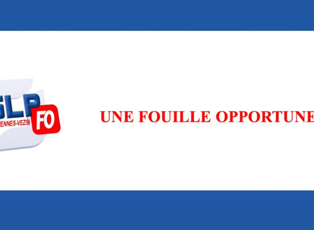 Prison de Rennes-Vezin : Une fouille opportune !!
