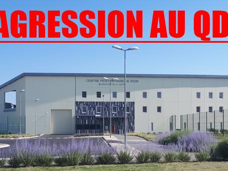 Prison de Riom : Agression au QD !