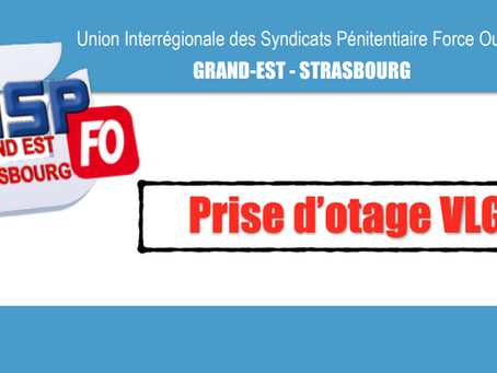 Prison de Villenauxe-la-Grande : Prise d'otage