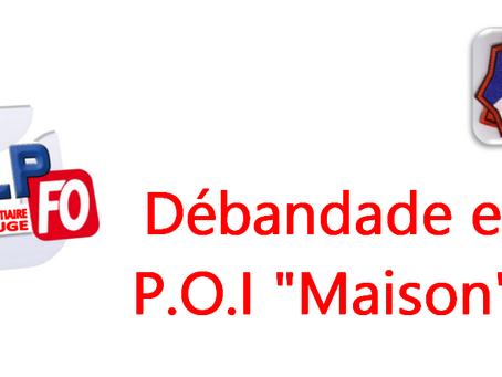 """Prison de Maubeuge : Débandade et P.O.I """"Maison"""""""