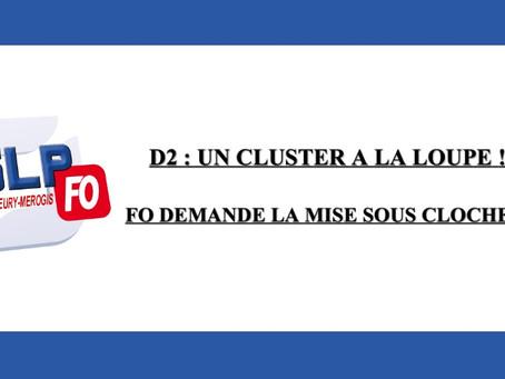 Prison de Fleury-Mérogis : D2, un cluster à la loupe ! FO demande la mise sous cloche !!