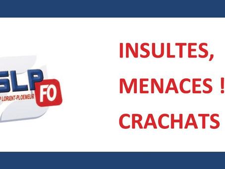 Prison de Lorient-Ploemeur : Insultes, menaces ! Crachats !
