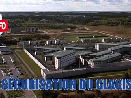 Prison de Nancy-Maxéville : Sécurisation du glacis