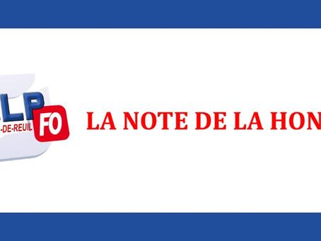 Prison de Val-de-Reuil : La note de la honte