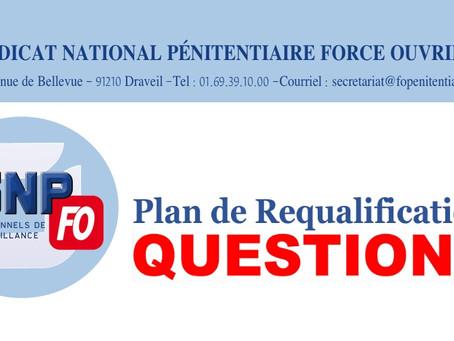 Plan de Requalification : Questions