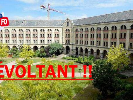 Prison de Rennes : Révoltant !