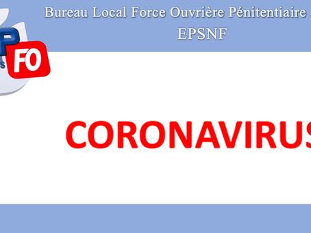 ESPN de Fresnes : Coronavirus
