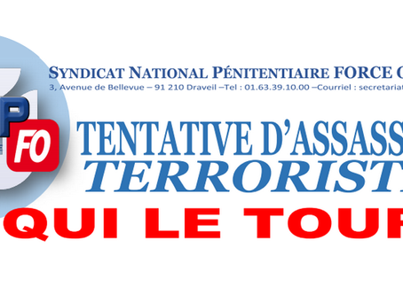 Tentative d'assassinat terroriste ! À QUI LE TOUR ?