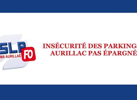 Prison d'Aurillac : Insécurité des parkings, Aurillac pas épargné