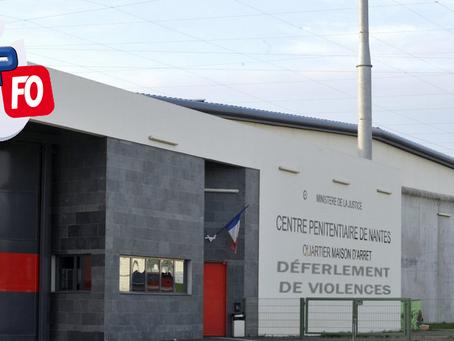 Prison de Nantes : Déferlement de violences